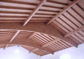 ristrutturazione soffitto in legno