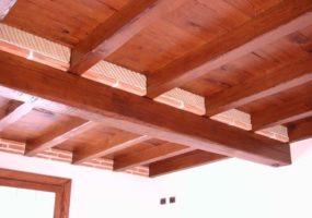ristrutturazione tetto in legno