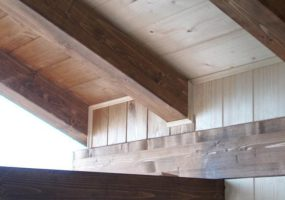 ristrutturazione tetto travi a vista